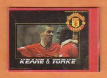 Manchester United Roy Keane & Dwight Yorke